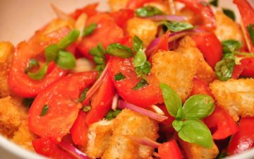 Panzanella Salad with Vino Cotto