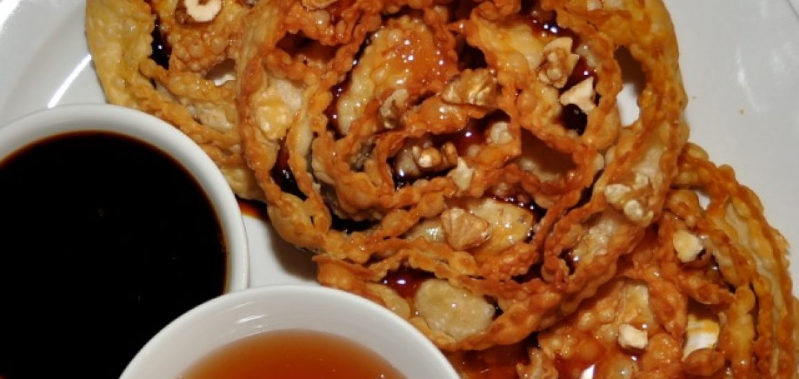 Rosettes_with_warmed_vinocotto_honey_nuts