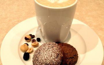 Choc, Coffee, Hazelnut Vino Cotto biscuits