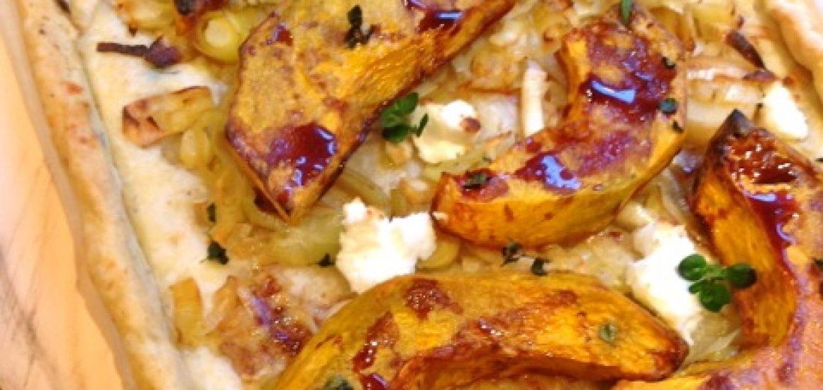 VinCotto Roasted Pumpkin and Goats Curd Tart_3