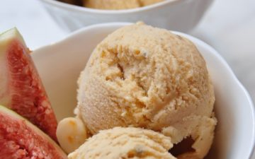 Roasted Fig Vincotto Ice-cream