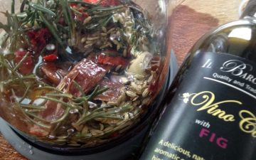 VinoCotto, Fennel, Anchovy and Rosemary marinade