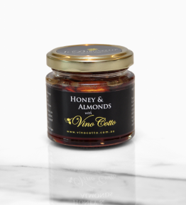 Honey and Almonds in Vino Cotto