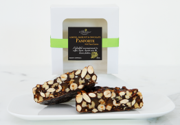 Panforte Almonds, Hazelnut Chocolate with VinoCotto