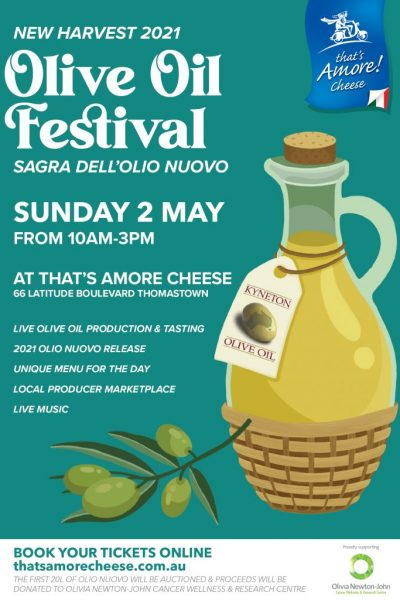 Thrilled to be a participating artisan stall holder at the Olive Oil Festival. Promises to be a great day out. Hope to see you!